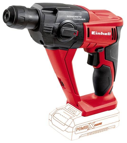 Einhell Power X-Change TE-HD 18V akkuporavasara runko