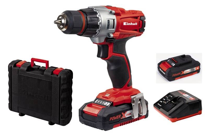 Einhell Power X-Change TE-CD 18V 1,5Ah akkuporakone