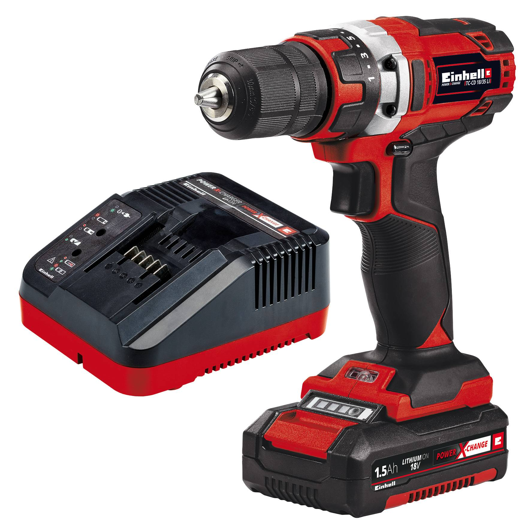 Einhell Power X-Change TC-CD 18/35 18V 1,5Ah akkuporakone